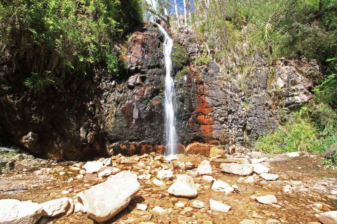 The Second Falls - 500 metres from the Waterfall Gully car park