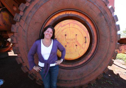 On the iron ore trail, Newman, Pilbara, WA