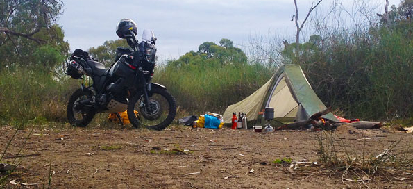Solo-Camping