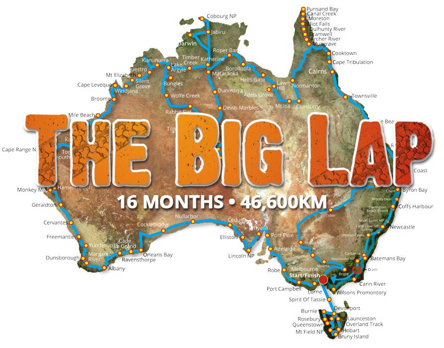 Welcome to Expedition Australia Expedition Australia – Big Map of Australia