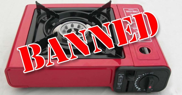 Banned Portable Butane Gas Stoves Expedition Australia