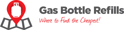gas bottle refills logo