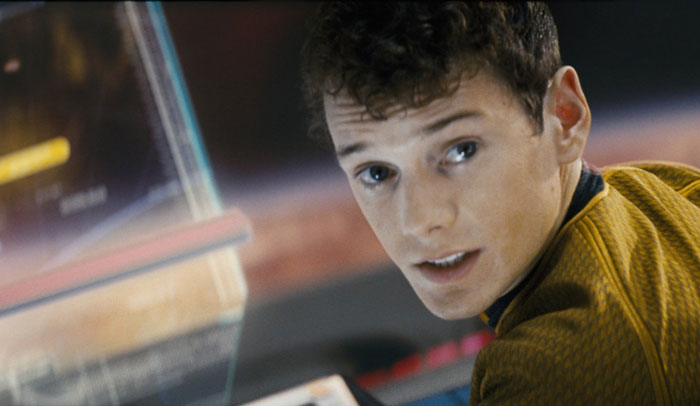 Anton Yelchin playing Chekov in Star Trek (Source: IMDB)
