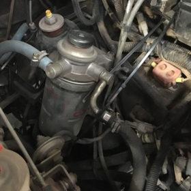 Fuel filter mount is broken