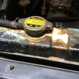 Radiator is leaking
