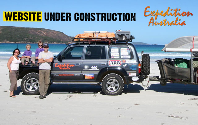 New Expedition Australia Website