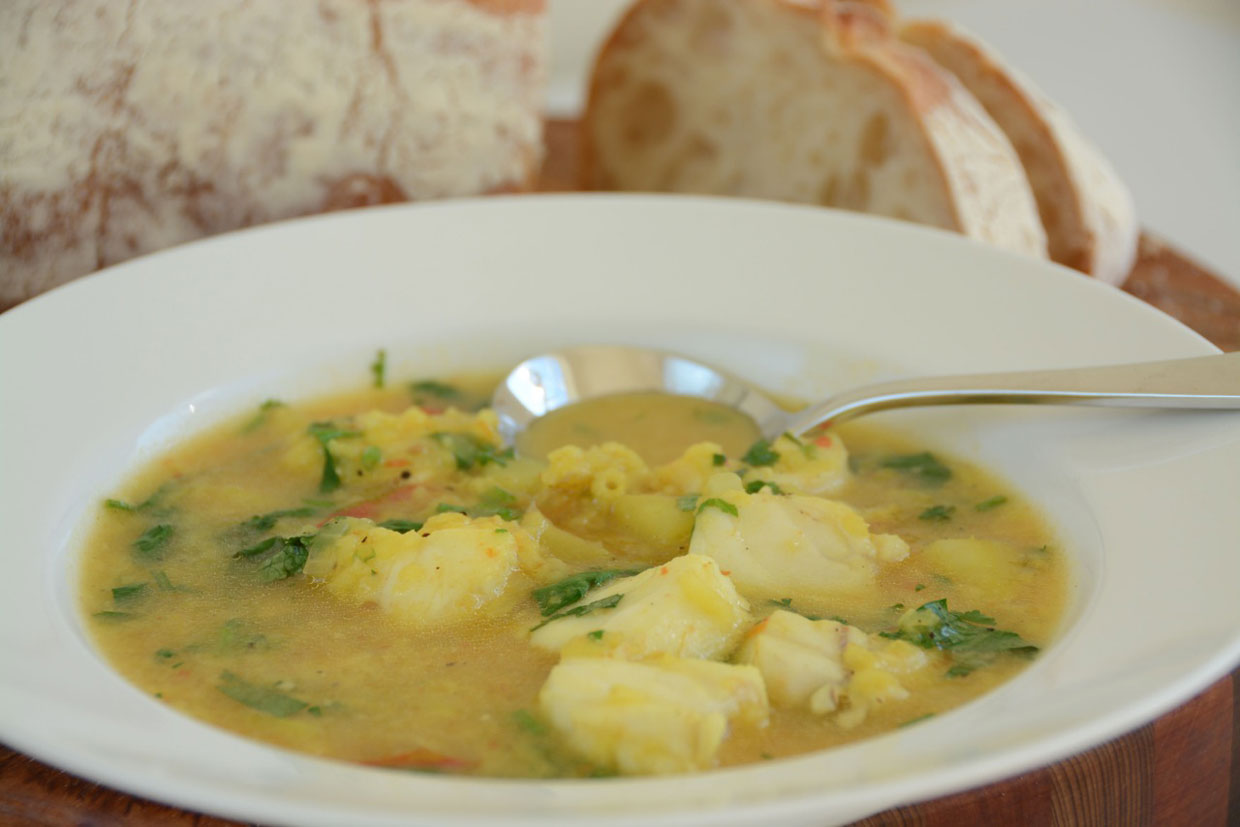 For your next big catch portuguese fish soup for Fish soup near me