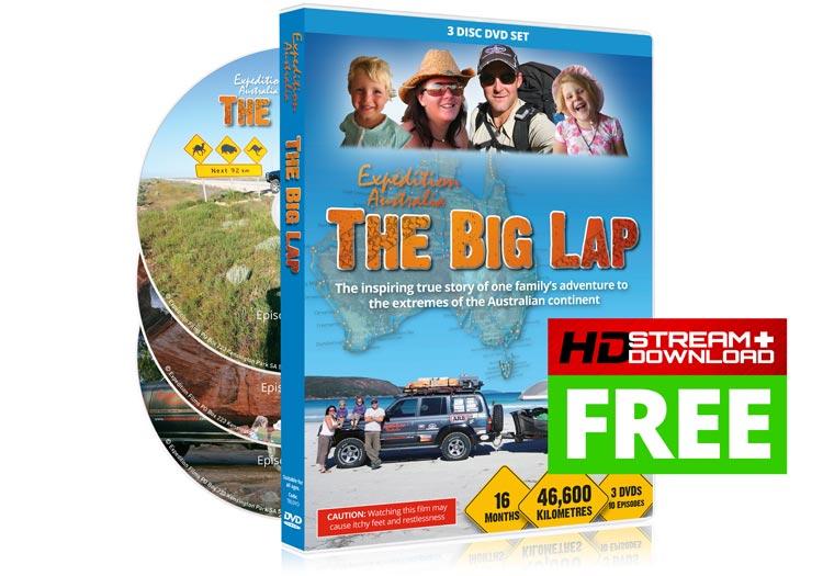The Big Lap DVD Series