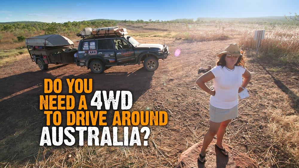 Western Australia 4wd Map.Do You Need A 4wd To Drive Around Australia Expedition Australia