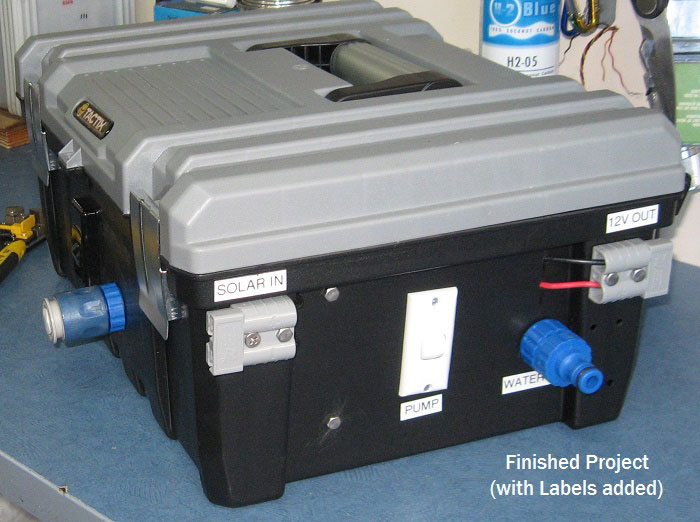Build your own water pump and filtration system for Water pump filter box