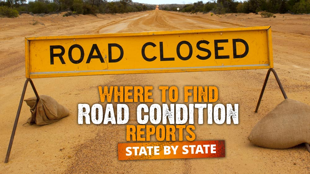 Where to find road condition reports - state by state - Expedition
