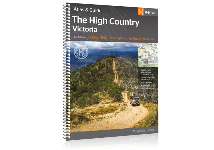 Hema The High Country Victoria Atlas & Guide