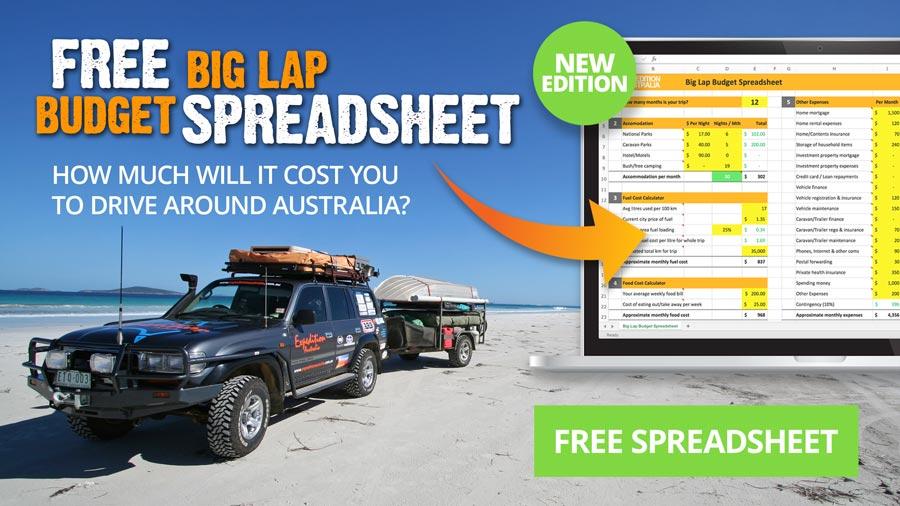 Big Lap Budget Spreadsheet - 2018