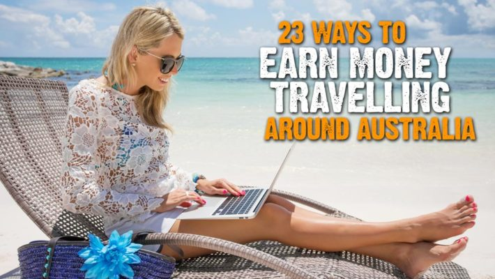 how to earn money travelling around australia